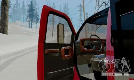 GMC C4500 Topkick para GTA San Andreas vista traseira