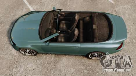 GTA V Zion XS Cabrio para GTA 4 vista direita