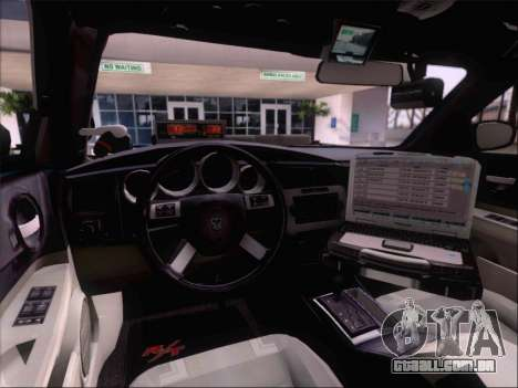 Dodge Charger San Andreas State Trooper para o motor de GTA San Andreas