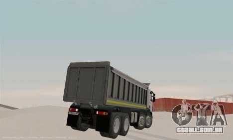 Scania P420 para GTA San Andreas vista direita