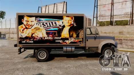 Estrelas do wrestling no Yankee para GTA 4 traseira esquerda vista