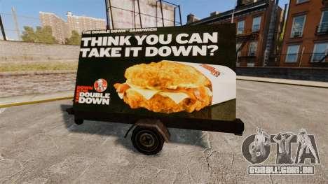 Novos outdoors sobre rodas para GTA 4