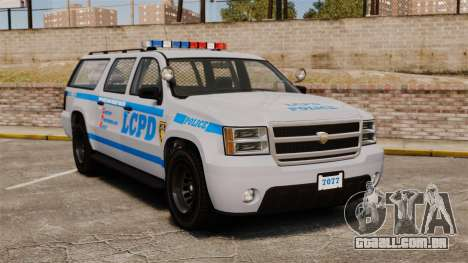 GTA V Declasse Police Ranger 3500PE [ELS] para GTA 4
