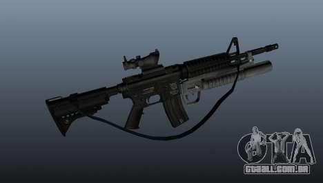 Carabina automática M4A1 v2 para GTA 4 terceira tela