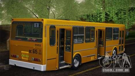 LIAZ 5256.00 pele-Pack 5 para vista lateral GTA San Andreas
