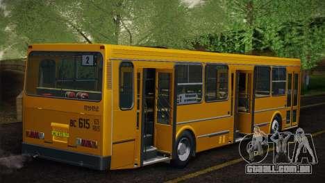 LIAZ 5256.00 pele-Pack 5 para GTA San Andreas vista traseira