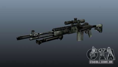 Rifle sniper M21 Mk14 v6 para GTA 4