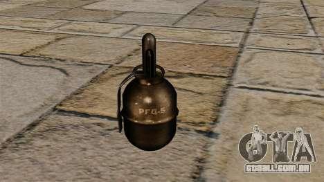 Granada de mão RGD-5 para GTA 4