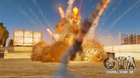 A nova configuração de incêndios e explosões para GTA 4 segundo screenshot