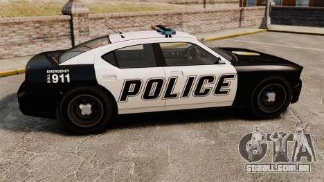 GTA V Buffalo Police para GTA 4 esquerda vista