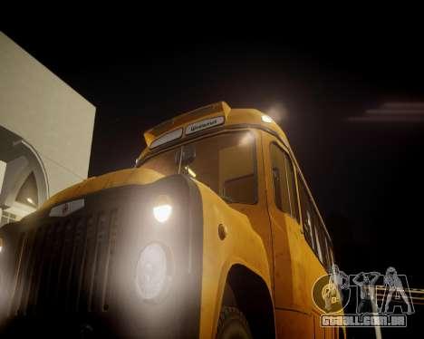 Escola de Kavz-685 para GTA 4 vista de volta