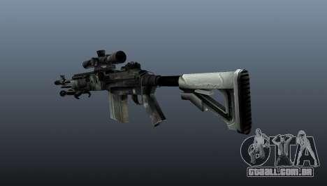 Rifle sniper M21 Mk14 v3 para GTA 4 segundo screenshot