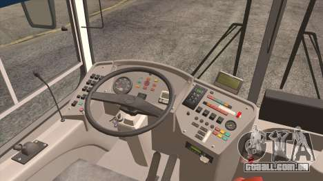 LIAZ 5256.57 2007 para GTA San Andreas vista interior