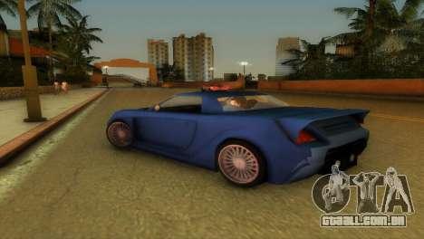 Toyota MR-S Veilside Hardtop para GTA Vice City vista traseira