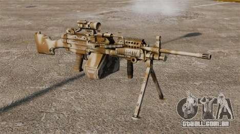 Luz metralhadora Mk 48 para GTA 4