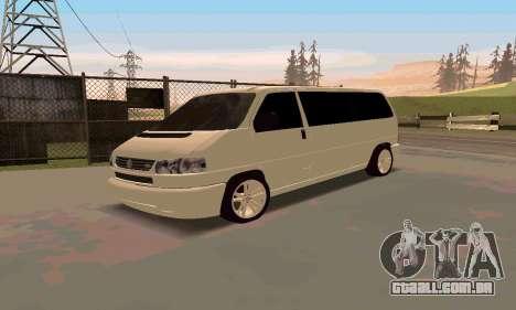 Volkswagen T4 para GTA San Andreas