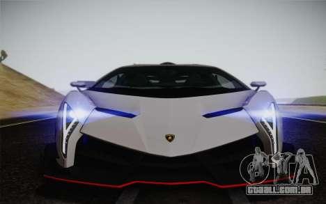 Lamborghini Veneno LP750-4 2013 para GTA San Andreas vista superior