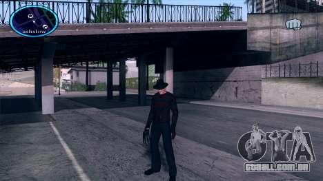 Freddy Krueger para GTA San Andreas