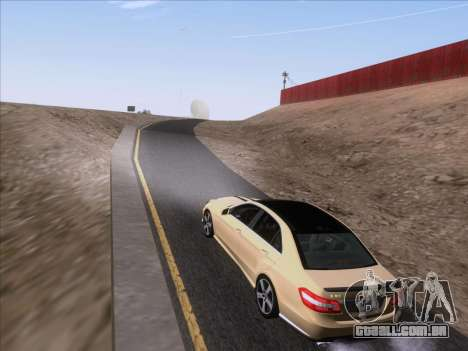 Mercedes-Benz E63 AMG 2011 Special Edition para GTA San Andreas vista interior