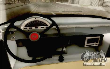 Ford F100 1956 para GTA San Andreas vista traseira