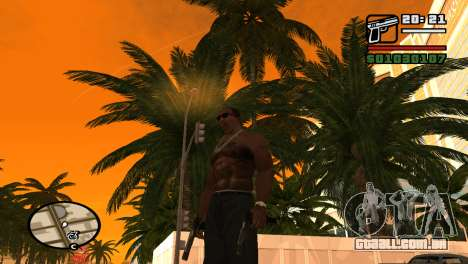 Pistola semi-automática para GTA San Andreas segunda tela