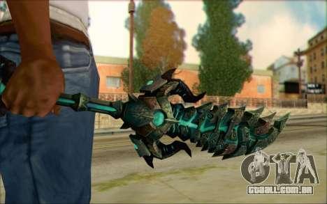 Souldrinker para GTA San Andreas terceira tela