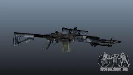 Mk14 M21 sniper rifle v2 para GTA 4 terceira tela