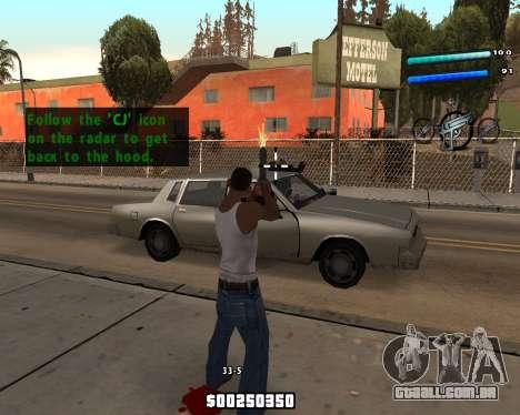 C-HUD by Tom para GTA San Andreas