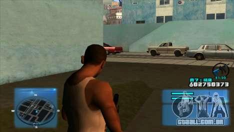 C-HUD Battlefield 3 para GTA San Andreas