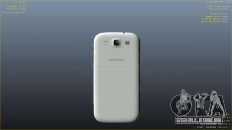 Samsung Galaxy S3 para GTA 4 quinto tela
