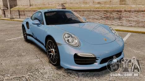 Porsche 911 Turbo 2014 [EPM] KW iSuspension para GTA 4