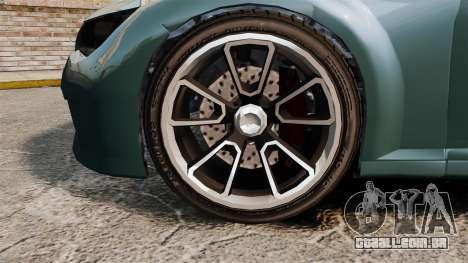 GTA V Zion XS Cabrio para GTA 4 vista de volta
