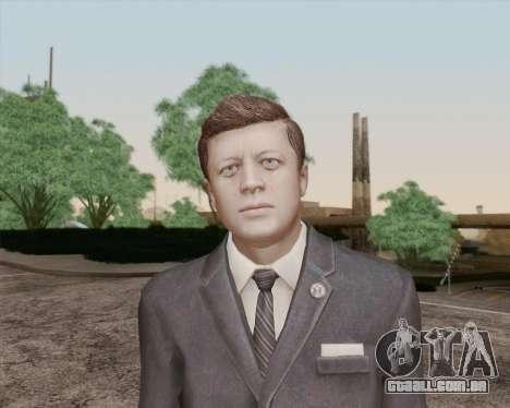 John Kennedy para GTA San Andreas terceira tela