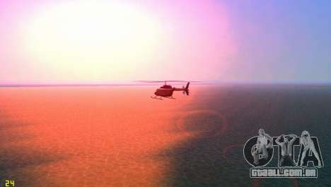 Sun effects para GTA Vice City quinto tela
