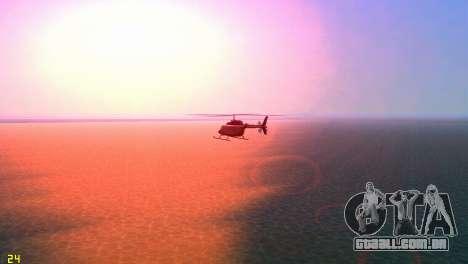 Sun effects para GTA Vice City quinto tela