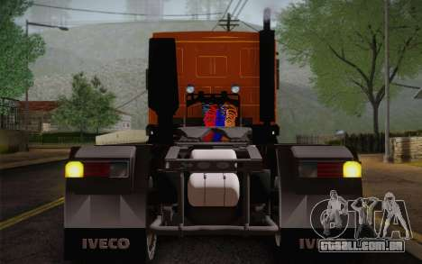 Iveco EuroTech 6x4 Doors para GTA San Andreas vista traseira