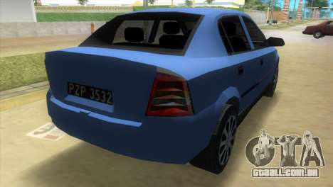 Opel Astra 4door 1.6 TDi Sedan para GTA Vice City deixou vista
