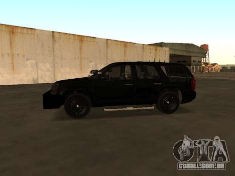 GMC Yukon ATTF para GTA San Andreas vista traseira