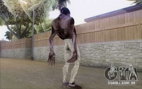 Mutante madžin para GTA San Andreas por diante tela