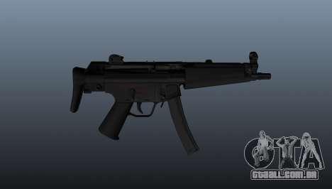Pistola-metralhadora HK MP5A5 para GTA 4 terceira tela