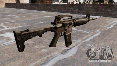 Semi-automático rifle AR-15 para GTA 4 segundo screenshot