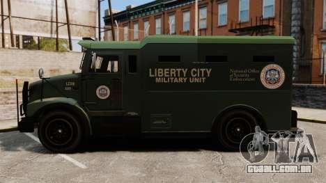 Military Enforcer para GTA 4 vista direita