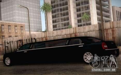 Chrysler 300C Limo 2007 para GTA San Andreas vista superior