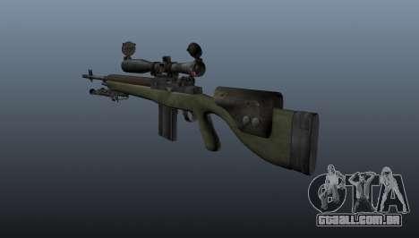 Rifle sniper OSV-96 para GTA 4 segundo screenshot