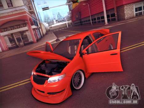 Toyota Vios Modified Indonesia para GTA San Andreas vista inferior