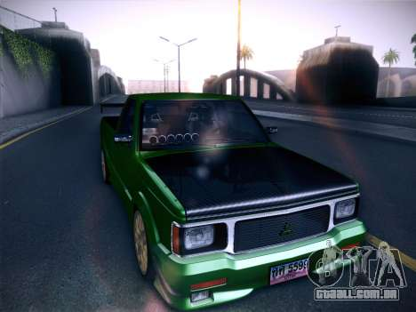 Mitsubishi Cyclone para GTA San Andreas vista traseira