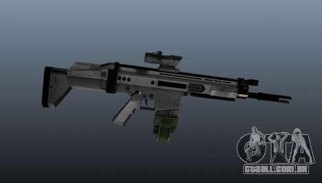Espingarda automática FN SCAR-H para GTA 4 terceira tela