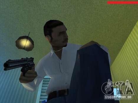 Colt Python para GTA San Andreas terceira tela