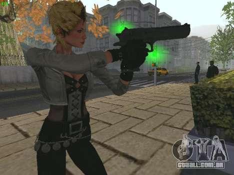 Juliet Starling para GTA San Andreas terceira tela
