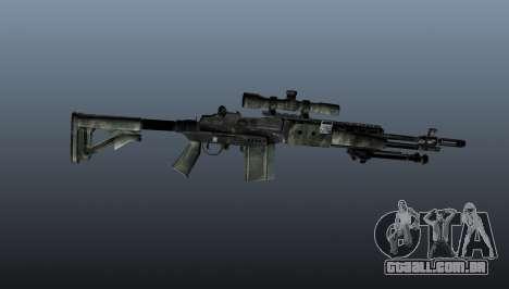 Rifle sniper M21 Mk14 v6 para GTA 4 terceira tela